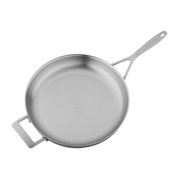 Industry Stainless Steel 12.5 Fry Pan by Demeyere