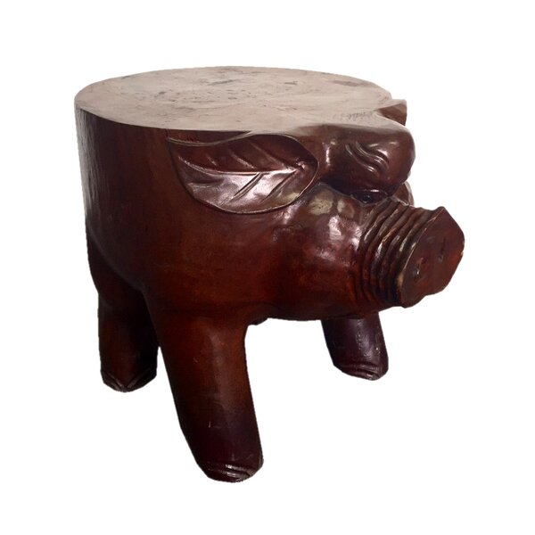 Pig Accent Stool by D-Art Collection