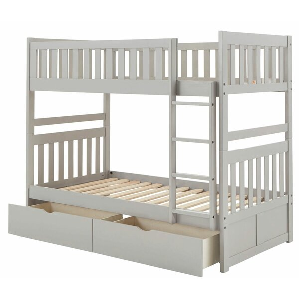 Devoe Bunk Bed by Harriet Bee
