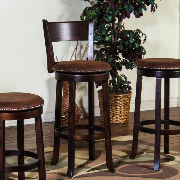 Fresno 30 Swivel Bar Stool by Loon Peak