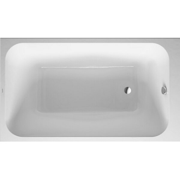 DuraStyle 55.13 x 31.5'' Bathtub by Duravit
