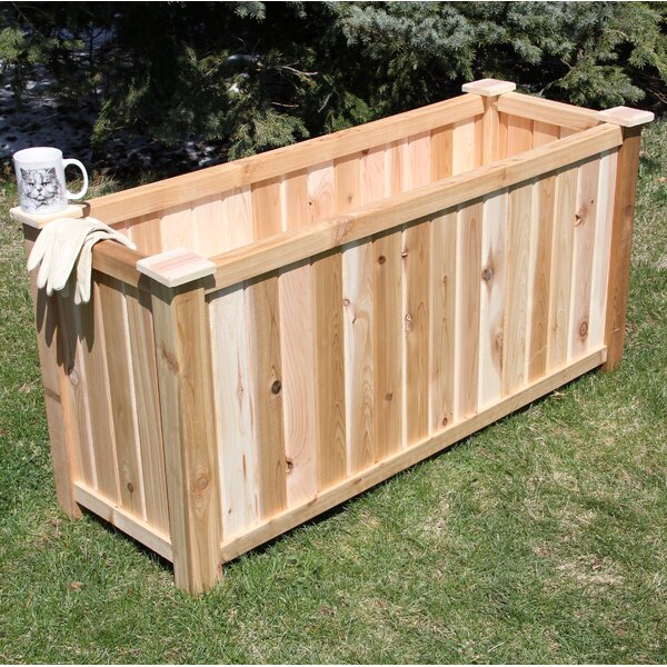 Cedar Planter Box by Elite Cedar