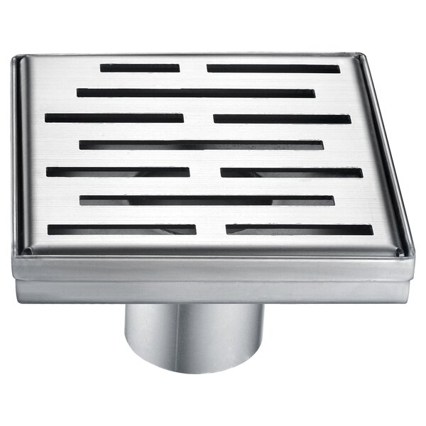 Amazon River 2 Grid Shower Drain by Dawn USA