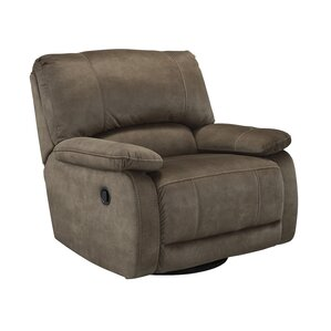 Seamus Manual Swivel Glider Recliner by Signature Design by Ashley