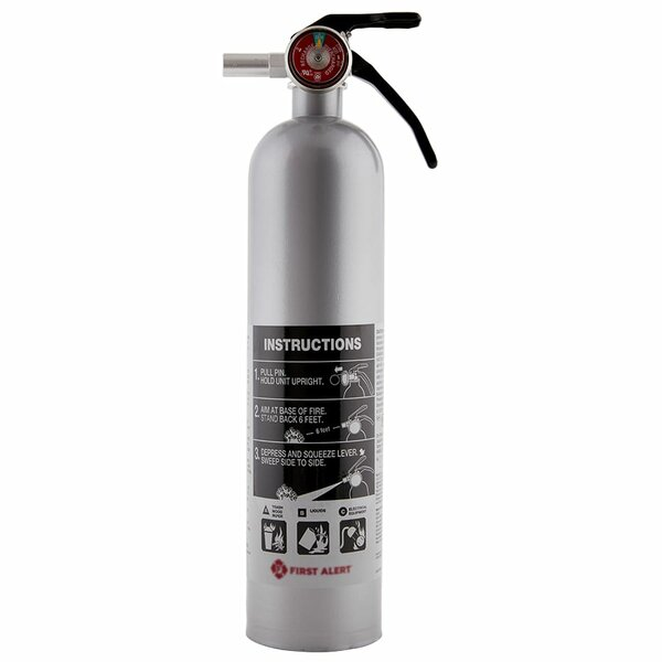 Us Coast Guard Abc For Household Fire Extinguisher By First Alert.