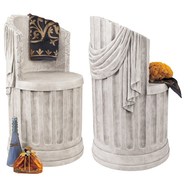 Baths of Caracalla Garden Stool by Design Toscano