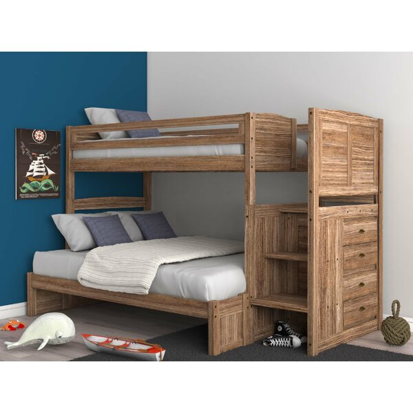 Goffredo Twin Over Full Bunk Bed with Drawers by Birch Lane™ Heritage