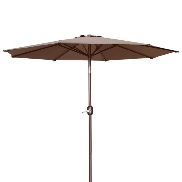 Milligan Hexagonal Outdoor Garden Patio Market Umbrella by Alcott Hill
