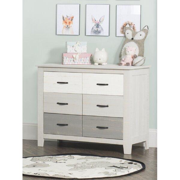 Prue 6 Drawer Dresser by Harriet Bee