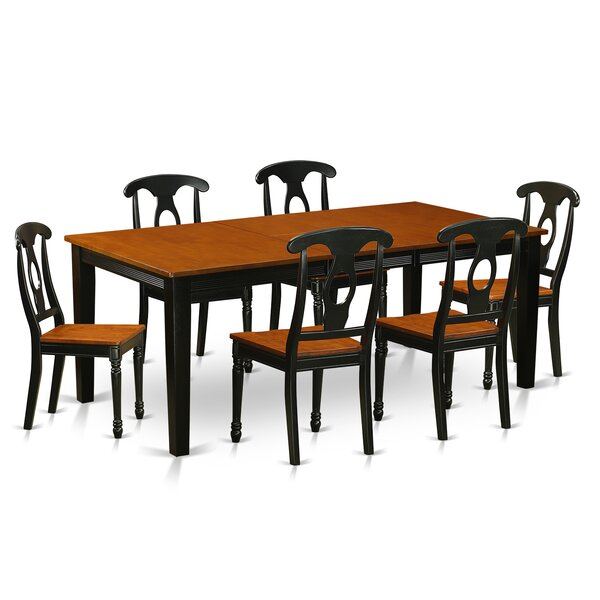 Pilger Modern 7 Piece Dining Set by August Grove