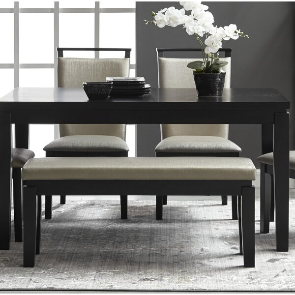 Garett Upholstered Bench by Latitude Run