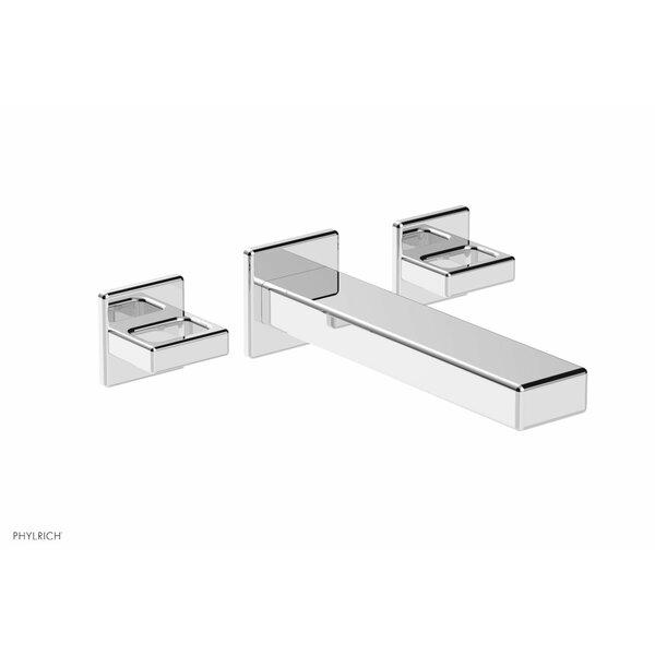 Mix Wall Mounted Bathroom Faucet with Drain Assembly by Phylrich Phylrich