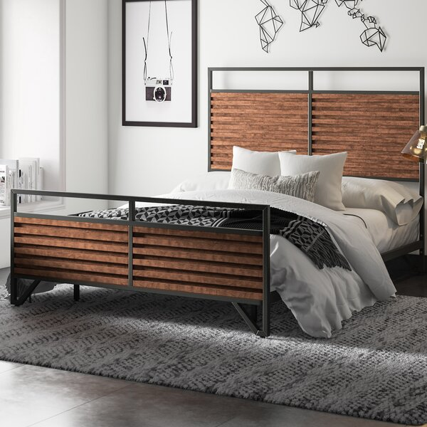 Lund Sleigh Bed by Mercury Row