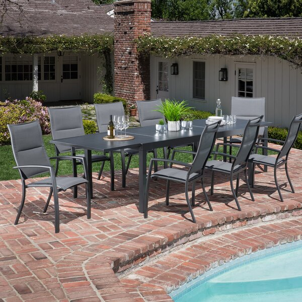 Liang 9 Piece Dining Set by Latitude Run