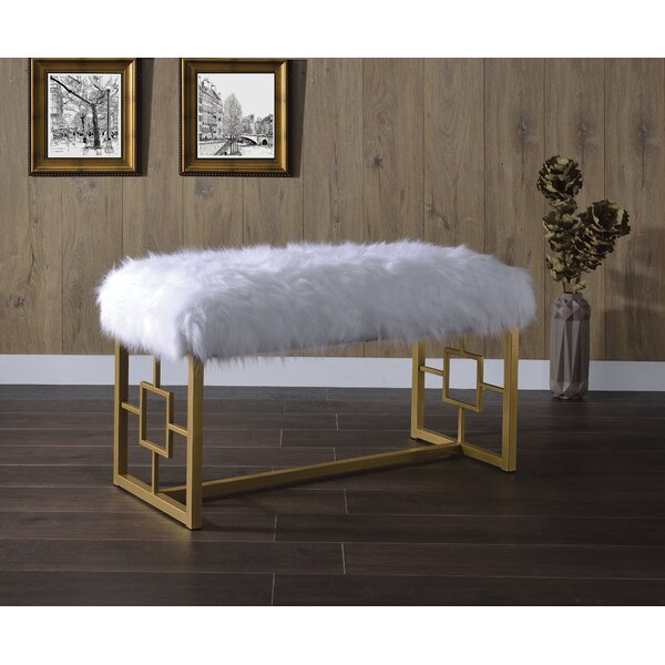 Ruthie Upholstered Bench By Everly Quinn by Everly Quinn Purchase