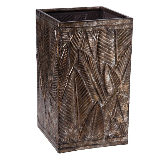 Vogt Metal Pot Planter by Bay Isle Home