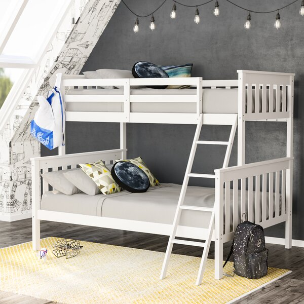 Rowley Twin Over Full Bunk Bed by Viv + Rae