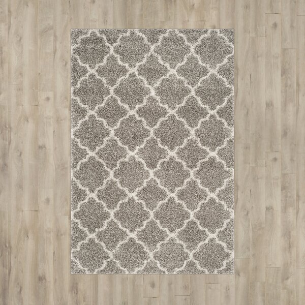 Klar Gray Area Rug by Zipcode Design