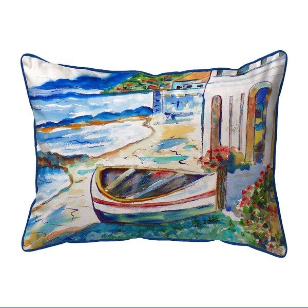 Sicilian Shore 24 Indoor/Outdoor Lumbar Pillow