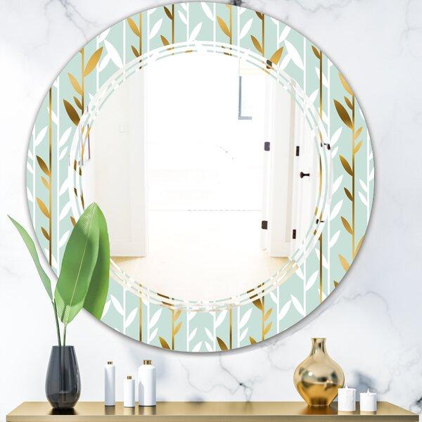 Triple C Foliage I Cottage Americana Frameless Wall Mirror