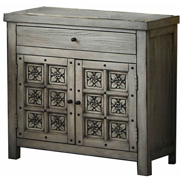 Florala Wooden 1 Drawer Nightstand by Ophelia & Co.
