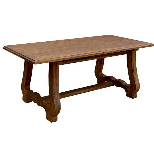 Macdonald Solid Wood Dining Table by Rosalind Wheeler Rosalind Wheeler