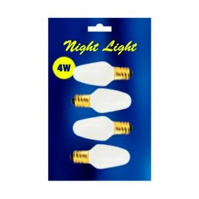 4W 120-Volt (2200K) C7 Replacement Bulb (Pack of 4) (Set of 28) by Bulbrite Industries