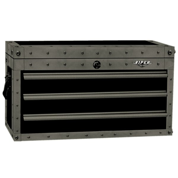 Armor Series 26W 3-Drawer Top Chest by Viper Tool Storage