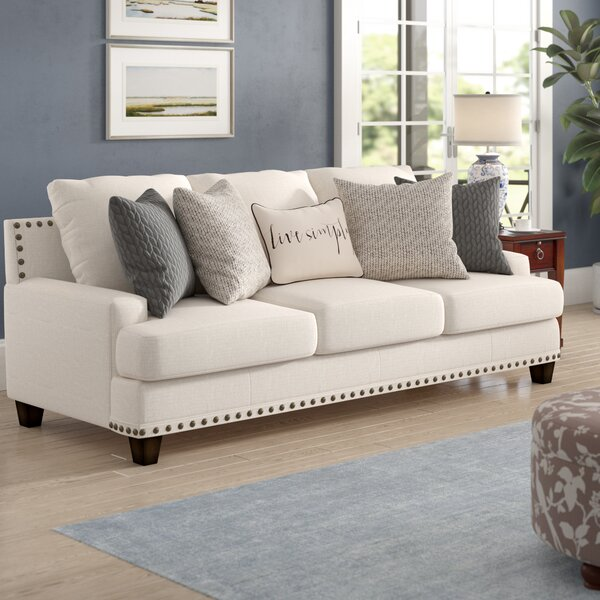 New Chic Oconee Sofa by Three Posts by Three Posts