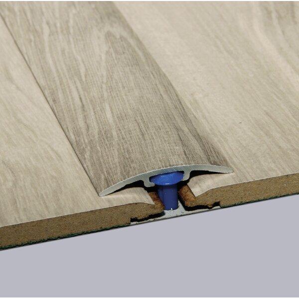 0.25 x 1.5 x 35.5 Oak T-Molding in Satin by ELESGO Floor USA