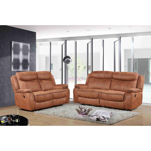 Ranger Reclining 2 Piece Living Room Set by Wrought Studio