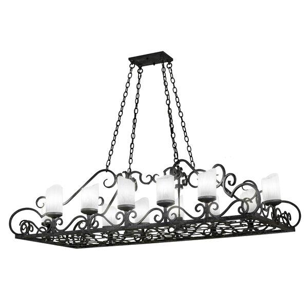 Walraven 14 - Light Shaded Rectangle/Square Chandelier by Fleur De Lis Living Fleur De Lis Living