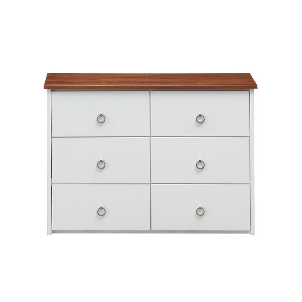 Grady 6 Drawer Double Dresser by Breakwater Bay