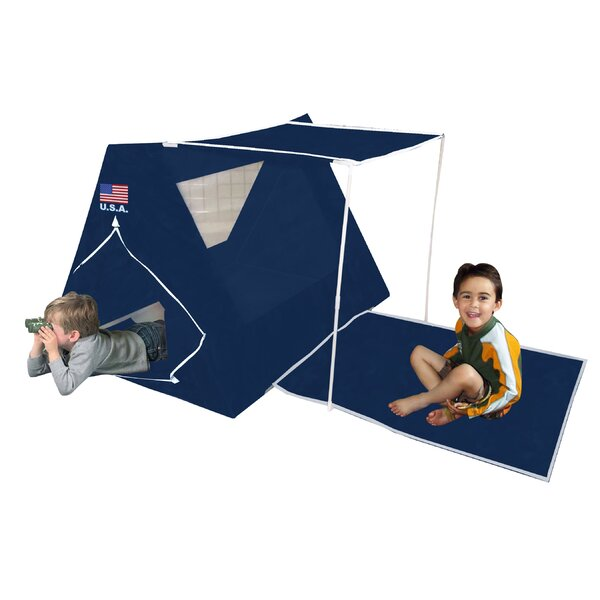 USA American Fort Play Tent with Carrying Bag by Kid's Adventure