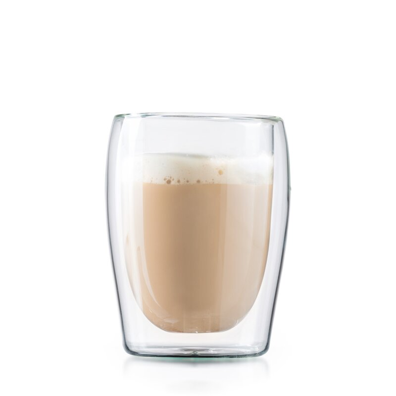 double wall espresso cups black glass ignazio 10 oz doublewall espresso cup mint pantry wayfair