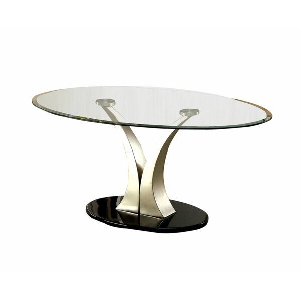 Monrovia Pedestal Coffee Table By Orren Ellis