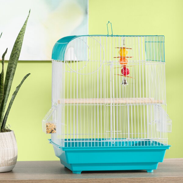 Zoe Flat Top Bird Cage by Archie & Oscar