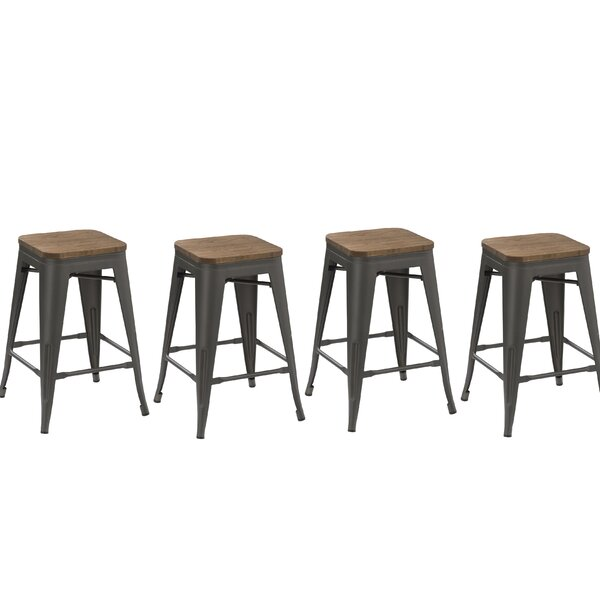 30 Stackable Bar Stool (Set of 4) by Famis Corp