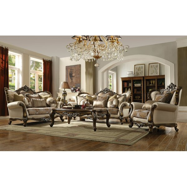 Mccloud 3 Piece Configurable Living Room Set by Astoria Grand