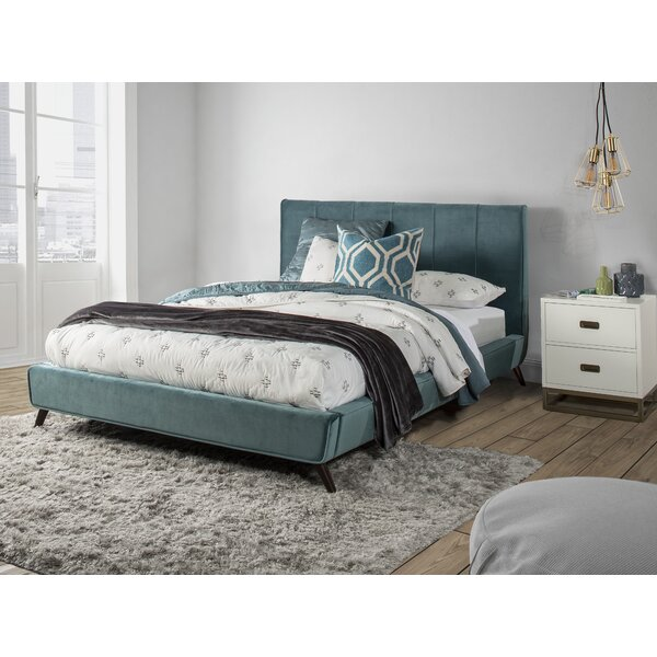 Chad Upholstered Platform Bed By Latitude Run by Latitude Run Coupon