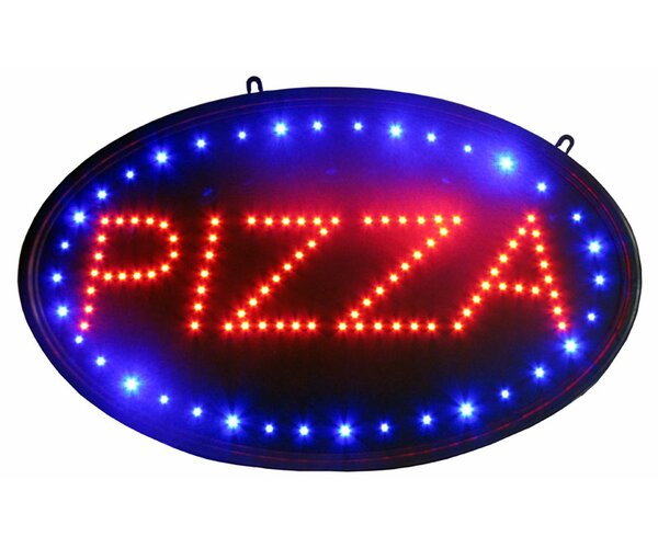 Pizza LED Sign Hanging Lamp by NeoPlex