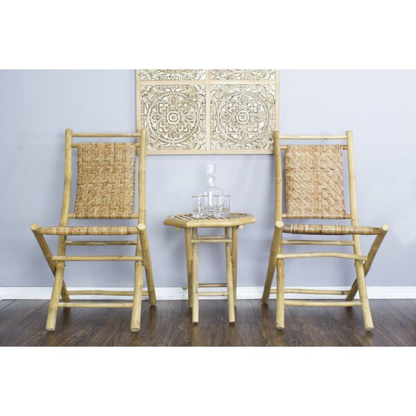 Mahalo Wood Folding Chair (Set of 2) by Heather Ann Creations