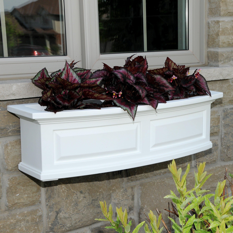 Kentshire Self Watering High Grade Polyethylene Window Box Planter Reviews Joss Main