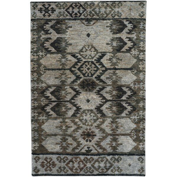 Striation Gray Area Rug by Capel Rugs