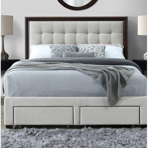 Abril Upholstered Storage Standard Bed by House of Hampton