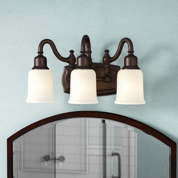 Biggerstaff 3-Light Vanity Light by Three Posts