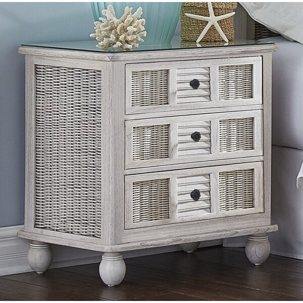 Miah 3 Drawer Nightstand by Rosecliff Heights