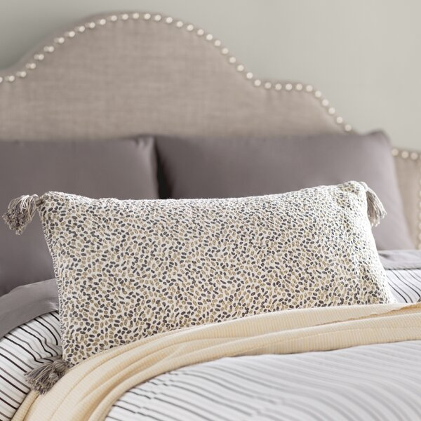 Axis Reversible Cotton Lumbar Pillow by Trent Austin Design