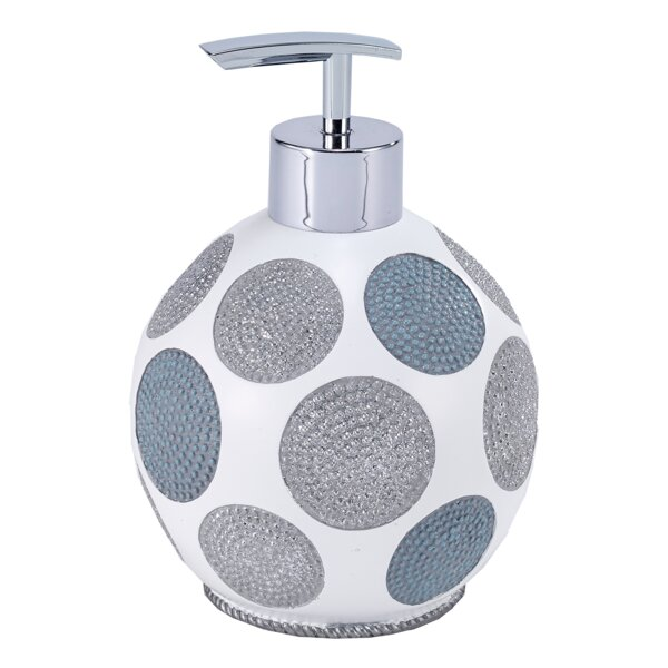 Dotted Circles Lotion and Soap Dispenser by Avanti Linens