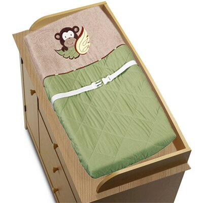 Monkey Changing Pad Cover by Sweet Jojo Designs